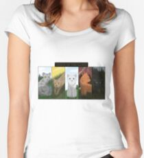 Warrior Cats Dawn of the Clans Women's Fitted Scoop T-Shirt