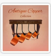 Antique Copper Collection Sticker