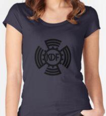 KdF Sunwheel Logo Women's Fitted Scoop T-Shirt