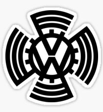VW Sunwheel Logo Sticker