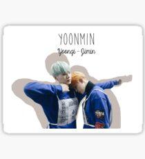 BTS/Bangtan Sonyeondan - Yoonmin at ISAC Sticker