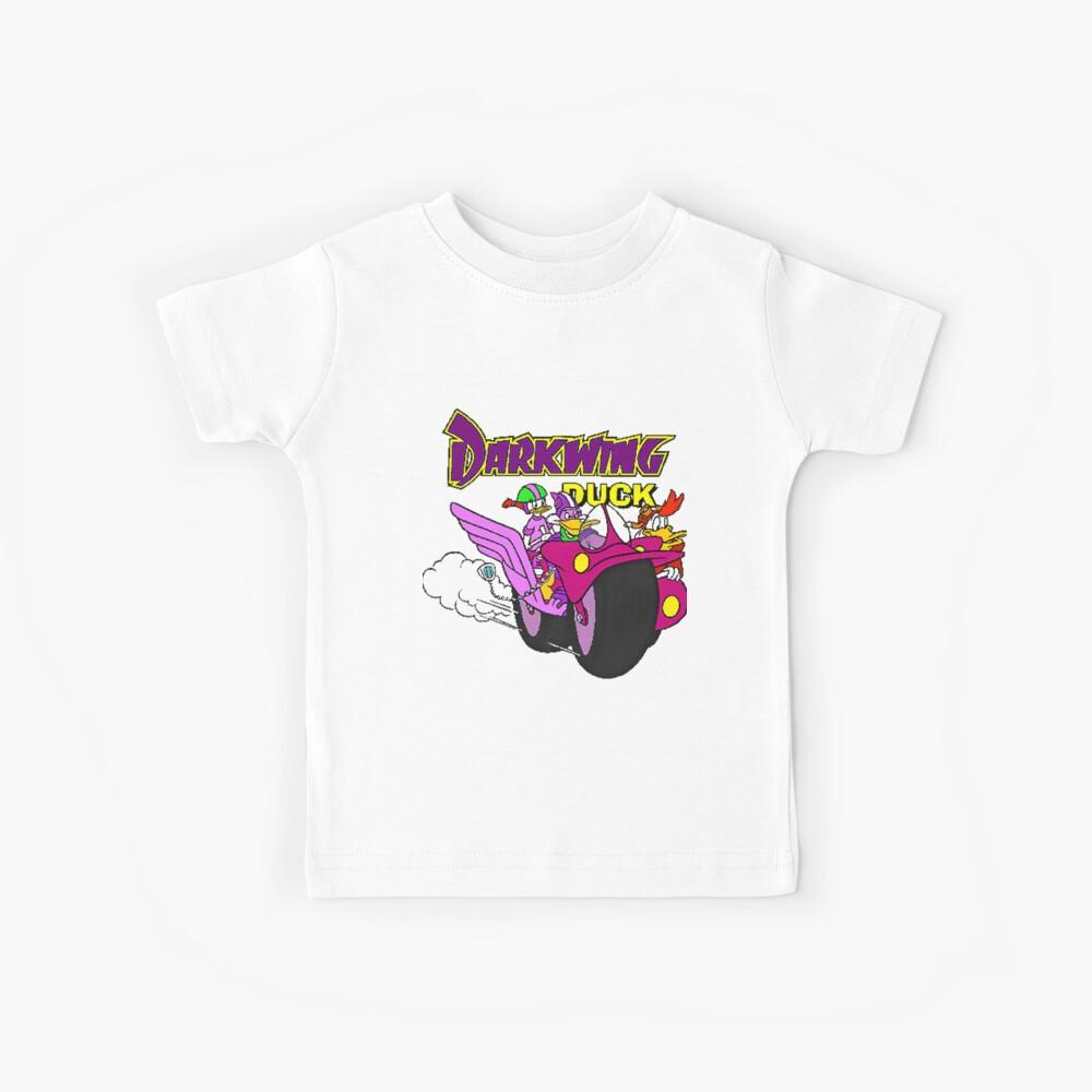 Darkwing-Enten-Motorrad Kinder T-Shirt