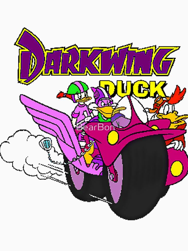 Darkwing-Enten-Motorrad von BearBon