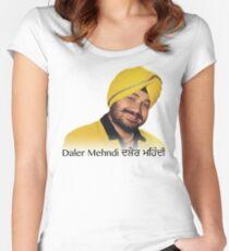 Daler Mehndi Women's Fitted Scoop T-Shirt