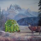 Boreal Jello Mold with Buck by David Irvine
