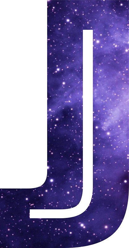 Quot The Letter J Space Quot Stickers By Mike Gallard Redbubble