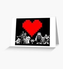 Undertale Greeting Card