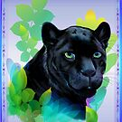 BLANK PANTHER and BLENDING JUNGLE by Lotacats