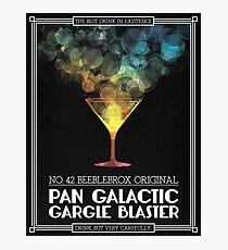 Pan-Galactic Gargle Blaster Poster Photographic Print