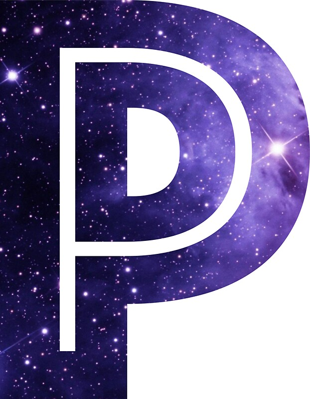 the letter p quot the letter p space quot stickers by mike gallard redbubble 25181 | flat,800x800,075,f.u1