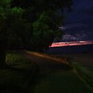 Na chwile przed wschodem słońca  na Balearach 09-2015. Andrzej Goszcz. by © Andrzej Goszcz,M.D. Ph.D
