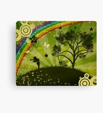 Freedom Concept Background Canvas Print