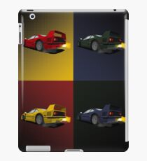 automotive pop art iPad Case/Skin