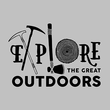 Explore the great outdoors by fennirose