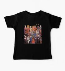 The party doesn't start until the Doctor walks in...twelve times Baby Tee