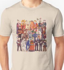 The party doesn't start until the Doctor walks in...twelve times T-Shirt