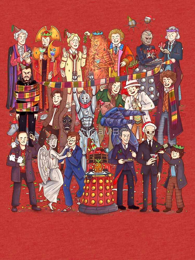 The party doesn't start until the Doctor walks in...twelve times by AliciaMB