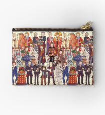 The party doesn't start until the Doctor walks in...twelve times Studio Pouch