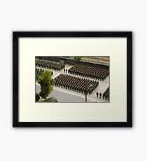 Special Forces parade ground Framed Print