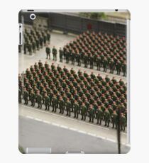 Special Forces parade ground iPad Case/Skin