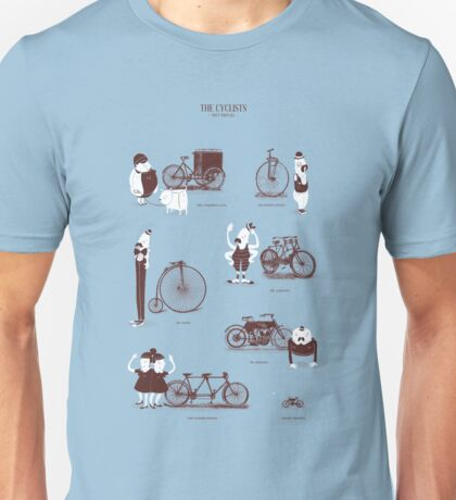 Meet The Cyclists Unisex T-Shirt