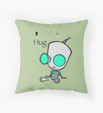Gir Needs a Hug Throw Pillow