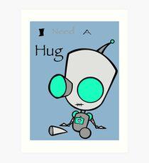 Gir Needs a Hug Art Print