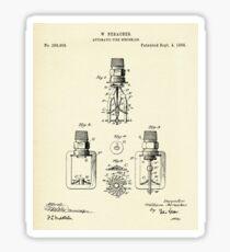 Automatic Fire sprinkler-1888 Sticker