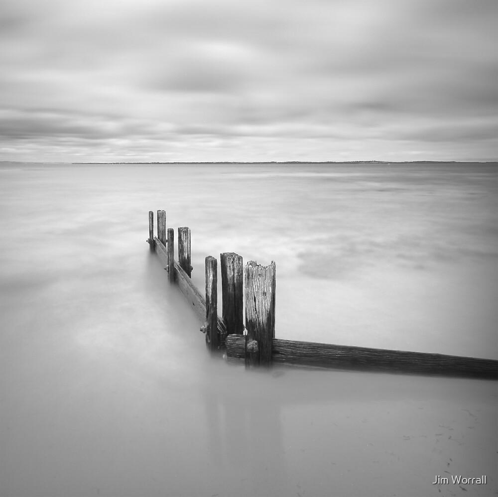 Balnarring beach groyne by Jim Worrall
