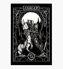Cancer Photographic Print