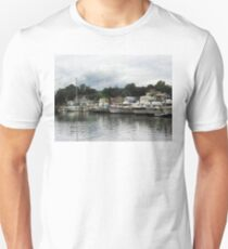 Boats On A Cloudy Day Essex CT T-Shirt