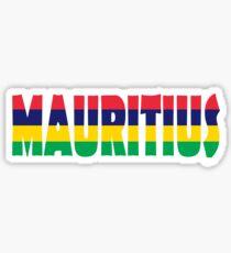 Mauritius Sticker