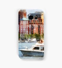 Maryland - Cabin Cruiser by Baltimore Skyline Samsung Galaxy Case/Skin