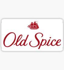 Old Spice Sticker