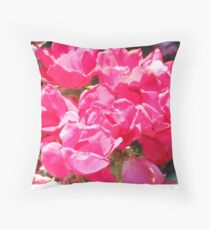 knockout roses Throw Pillow