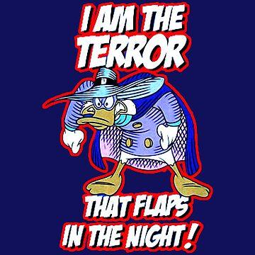Darkwing Duck Night Terror by YaphiClimb