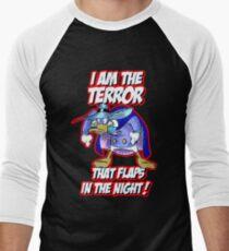 Darkwing Duck Night Terror Men's Baseball ¾ T-Shirt