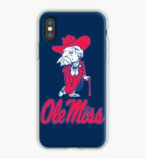 Ole Miss Mississippi iPhone Case