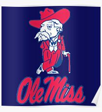 Ole Miss Mississippi Poster