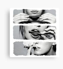 Girls love blunts Canvas Print