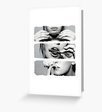 Girls love blunts Greeting Card