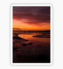 Harbour Sunset Sticker