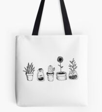4 plants are better than 3 but then again 5 is better Tote Bag