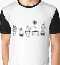 4 plants are better than 3 but then again 5 is better Graphic T-Shirt