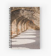 Shadows in the San Jose Mission Convento Spiral Notebook