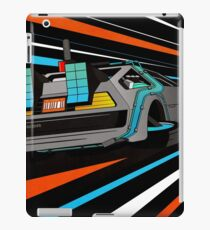Delorean Time Flux - Orange iPad Case/Skin