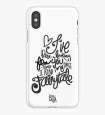 Quote Fairytale iPhone Case