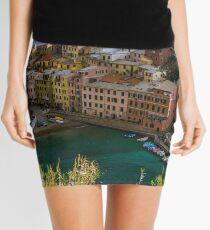 Beautiful Vernazza, Italy Mini Skirt