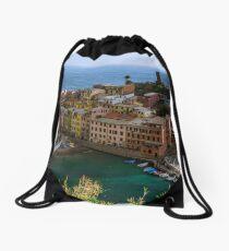Beautiful Vernazza, Italy Drawstring Bag