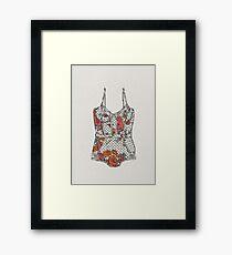 Lingerie-2 Framed Print